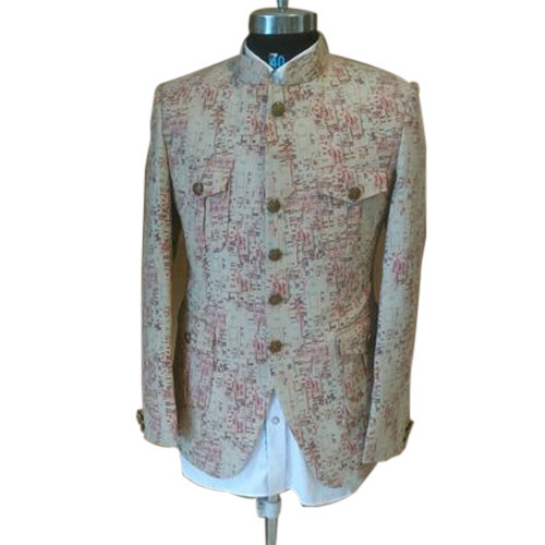 132d30d29 Cotton Mens Chinese Collar Coat, Rs 5700 /piece, A P Designer Studio ...