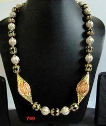 Round Beads Mala Side Pendants