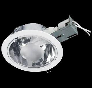 Consumer Lighting Glider White Finish 1x15w Retrofit Cfl
