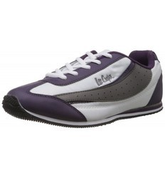 Lee Cooper Womens White And Purple Shoes
