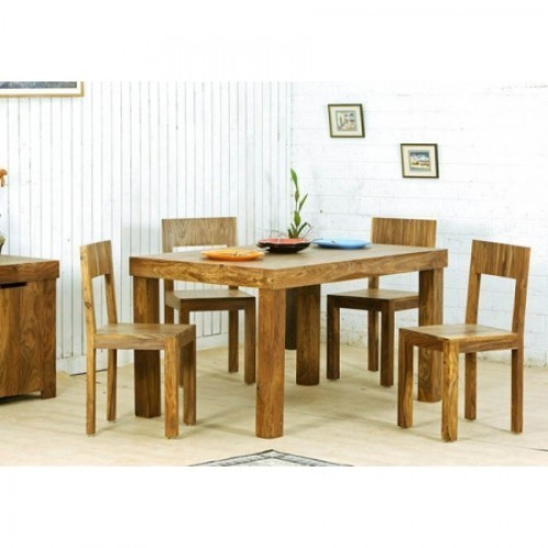 Perfect Solid Wood Four Seater Dining Table