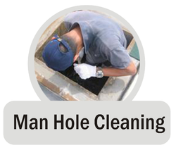 Man Hole Cleaning