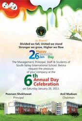 Invitation Cards Designing Services in Indore