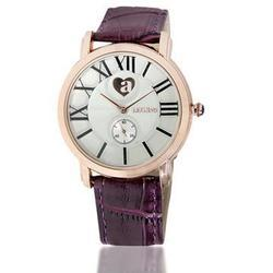 Smart Purple Strap Watch