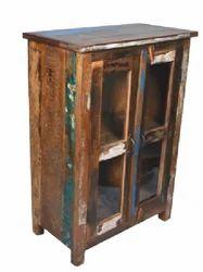 Wooden Glass Door Cabinet