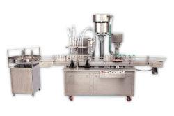 Automatic Filling and Capping Machine