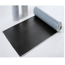VJT Self Adhesive Waterproofing Membrane, For Construction, Black