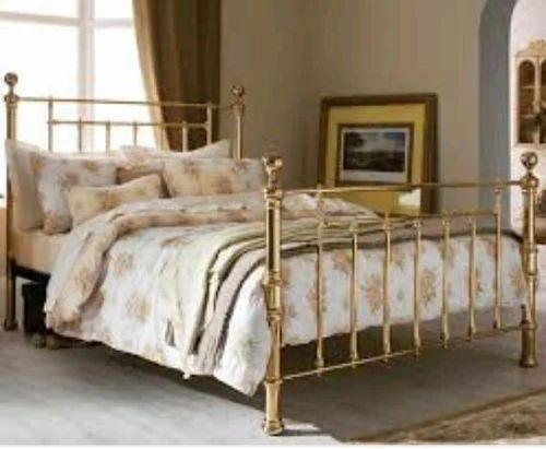 Premium Brass Bed