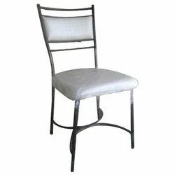 Polished Designer Steel Chair