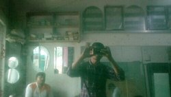 Big Mirror Glass