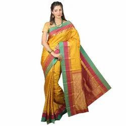 Embossed Silk Saree