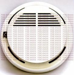 White Battery Operated Smoke Detector