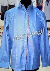Regular Fit Cotton Designer Uniform Shirt