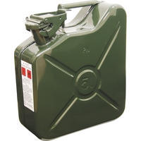 5ltr Heavy Duty Steel Jerry Can (green)