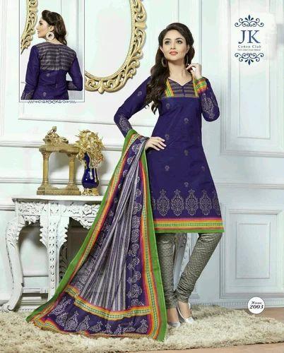 0be354fe30 JK Heena Cotton Printed Salwar Suits, Rs 340 /piece, Womens Paradise ...
