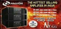 NX Audio 5000w Proton Mt1201 Live Sound Power Amplifier, Rs 48000