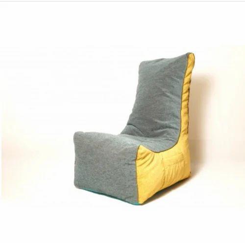 Astounding El Divano Kids Bean Bag Sofa Green And Yellow Creativecarmelina Interior Chair Design Creativecarmelinacom