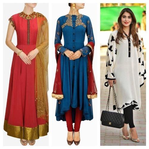 Ladies Kurta - Designer Ladies Kurta Manufacturer from Ghaziabad