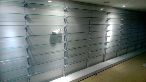 Glass Techno Infra Shoe Display Rack Rs 5250 Unit Techno Infra