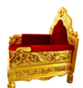 Gold Mounted Chair