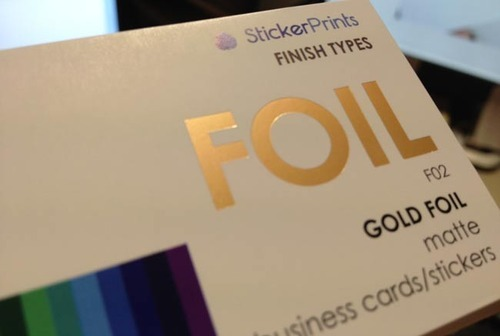 Foil Visiting Card Printing View Specifications Details By Amba