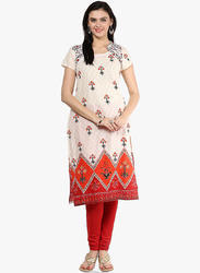 Designer Pakistani Embroidered Long Length Kurta
