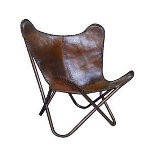 Superieur Leather Butterfly Chair