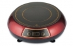 Bajaj Majesty Mini Induction Cooker Red Black