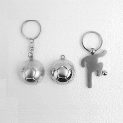 Stainless Steel Silver Metal Key Rings