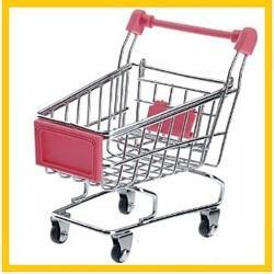 Red Four-Wheel Baby Shopping Trolley, Model Name/Number: SPS-22E