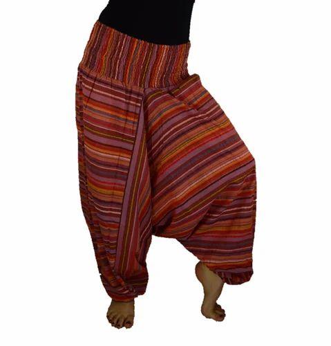 f3a1b9615f77 Cotton Harem Trouser Striped at Rs 215 /piece(s) | Cotton Harem ...