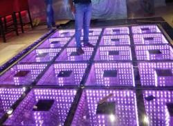 3D Dance Floor Light