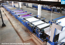 Flat Bed Screen Printer