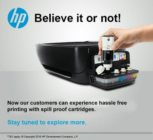 Hp Inkjet Gt 5820 All In One Tank Printer