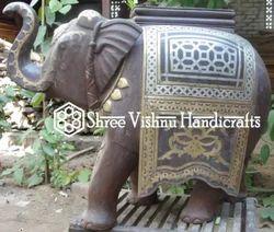 Elephant Statue, for Interior Decor, Size/dimension: 10inch/27inch/22inch