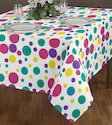 Fancy Color Table Cloth
