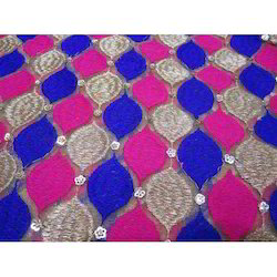 Designer Net Embroidery Fabric