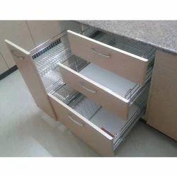 modular kitchen baskets designs