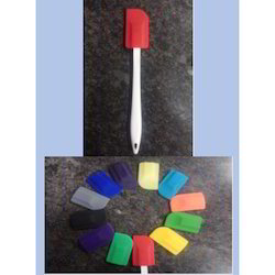 Silicone Spatula with PP Plastic Stick