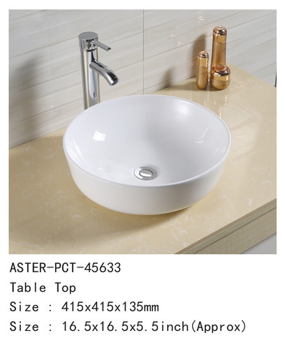 Importer Of Table Top Basin Color Basin By Plano Sanitaryware Surat