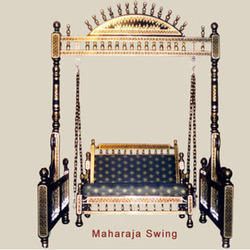 Wooden Swing -Maharaja