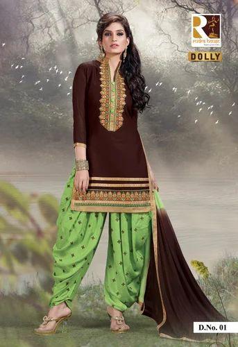 065d4e0aa2 Bollywood Punjabi Patiyala Salwar Kameez at Rs 780 /set | Punjabi ...
