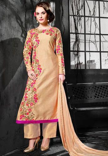 ef1dac3100 Designer Pant Style Salwar Suit - Mandipa Creation, Surat | ID ...