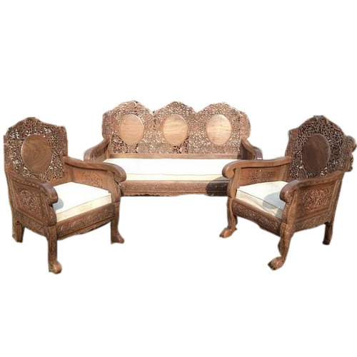 Wooden Carved Sofa Set Carving Wooden Sofa Lakdi Ka