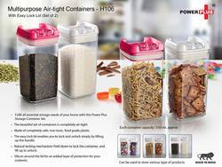 Multipurpose Air-Tight Containers (550ml)