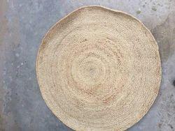 Hemp Natural Round Rug