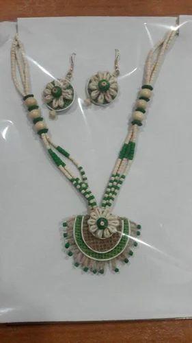 Jute Jewellery, जूट ज्वेलरी, जूट के आभूषण - Enchant, Kolkata   ID:  12530484597