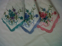 Ladies Hankerchiefs Cutwork