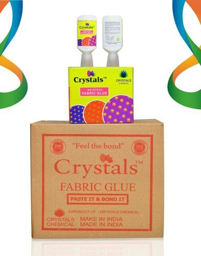 Crystals Fabric Glue 30 ML, Pack Type: 120 Pcs
