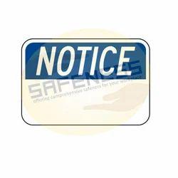 OSHA-4 Notice Sign
